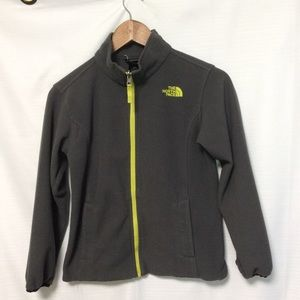 North Face fleece jacket size 10/12 Boys